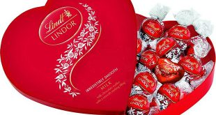 شکلات قلبی قرمز
