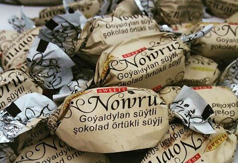 فروش شکلات نوروز ترکمنستان