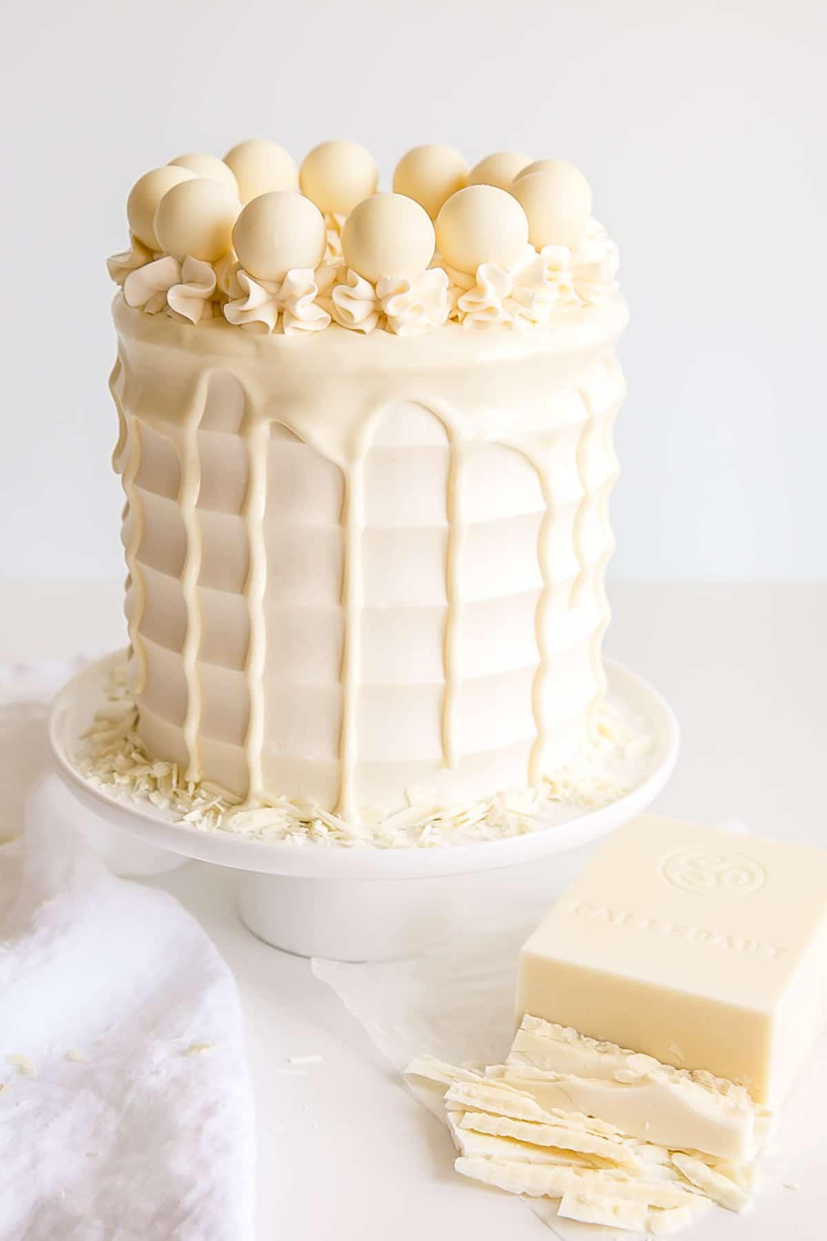 کاربردهای شکلات تخته ای سفید White bar chocolate