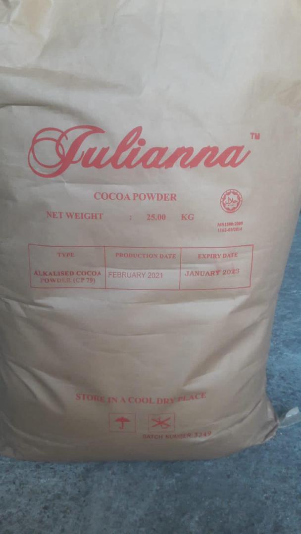 پودر کاکائو جولیانا مالزی :cacao Juliana