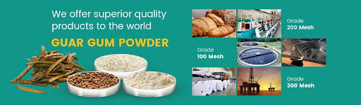 کاربردهای پودر گوارگام در صنایع غذایی