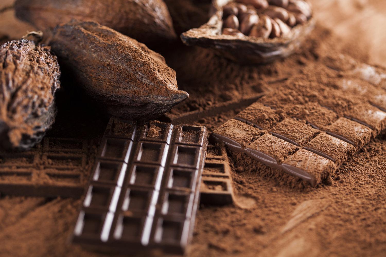 مواد به کار رفته در شکلات تخته ای
