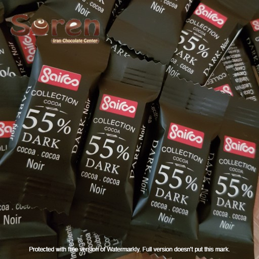 شکلات سایرو 55 درصد   کارخانه شکلات سایرو