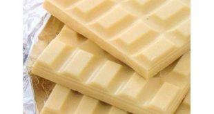 قیمت شکلات تختهای سفید شیرین شیری